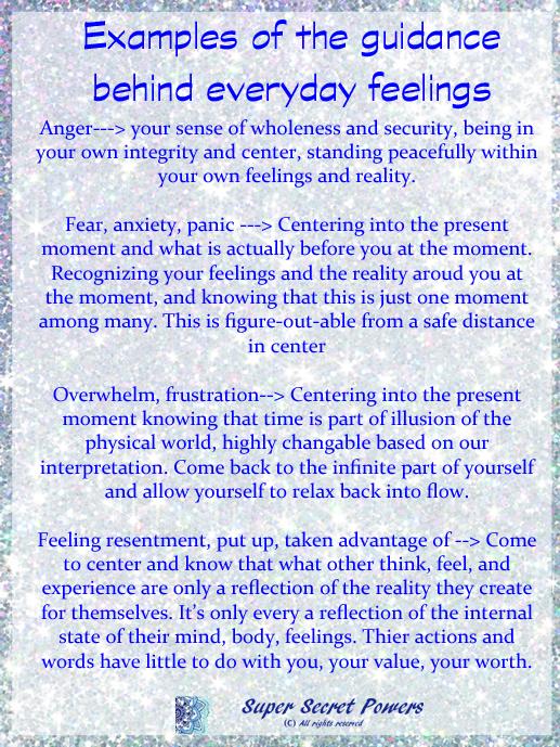 guidance behind feelings copy