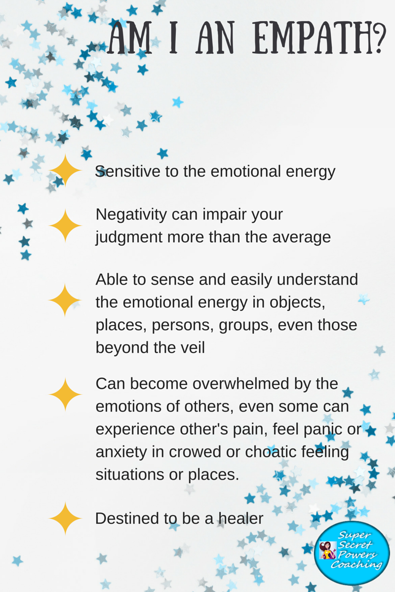 Am I an Empath infographic