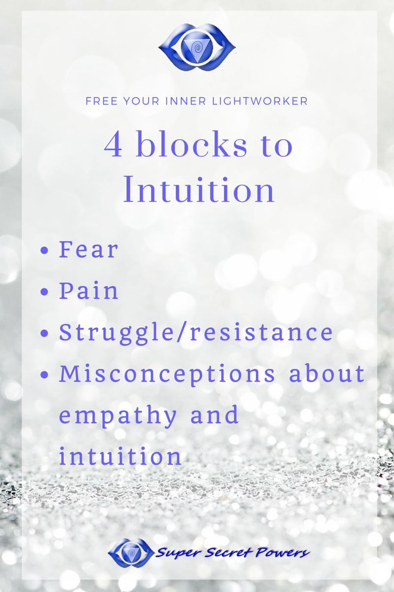 4 blocks to intuition