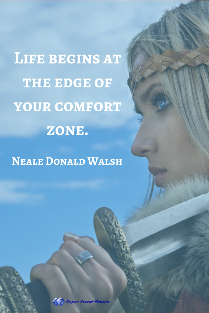 Life begins at the edges of your comfort zone fiercely sensitive program