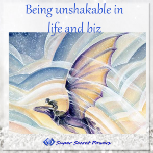 Being unshakable in life and biz