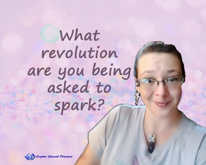 What revolution are being asked to spark?