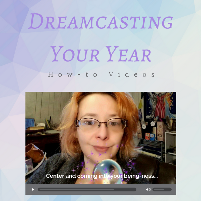 Dreamcasting your year instructions