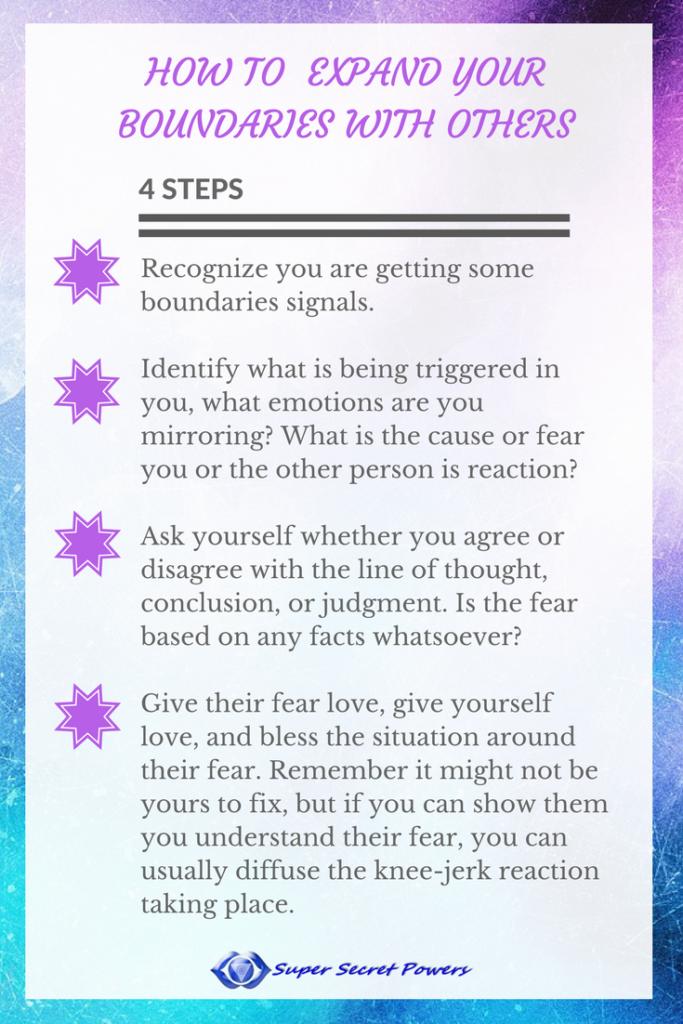 expand your boundaries