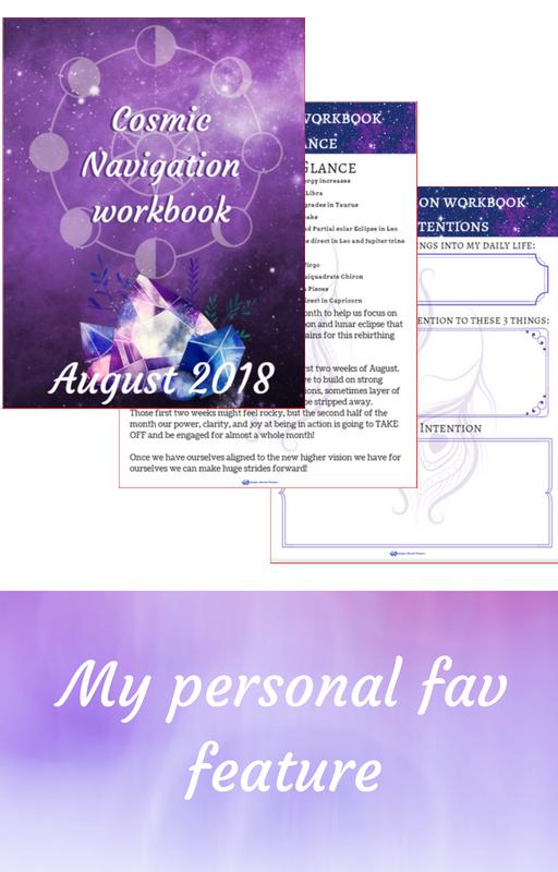 cosmic navigator workbook