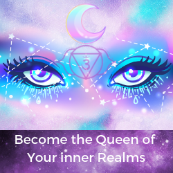 become the queen of your inner realm by making meditation your bitch