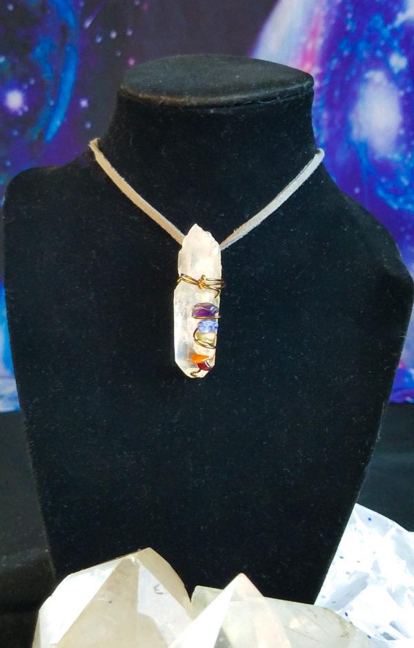 Chakra healing pendant